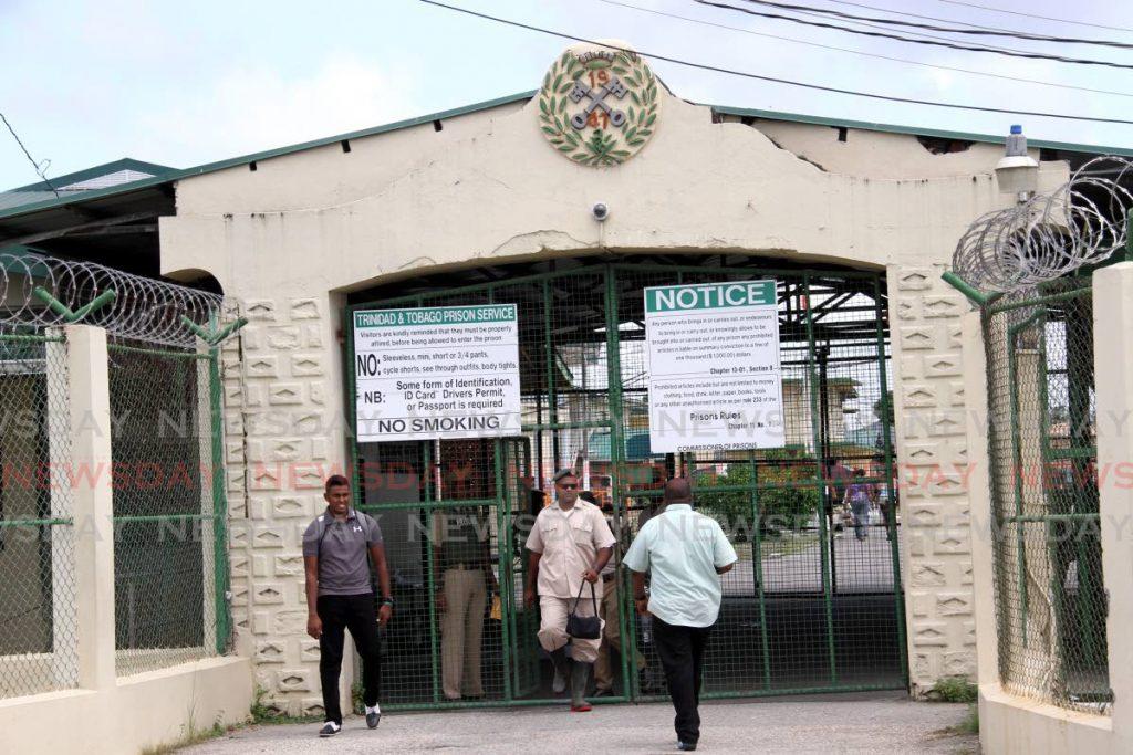 Outside the Golden Grove Prison in Arouca  FILE PHOTO: SUREASH CHOLAI -