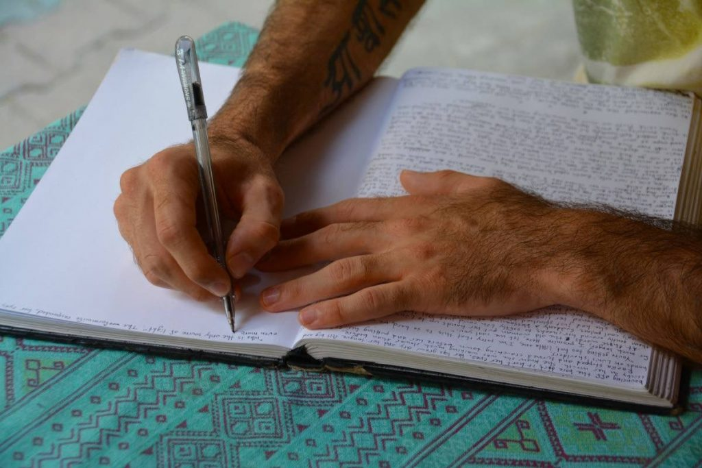 Writing at the beginning of the day can help you to organise your thoughts and your direction for the day. -