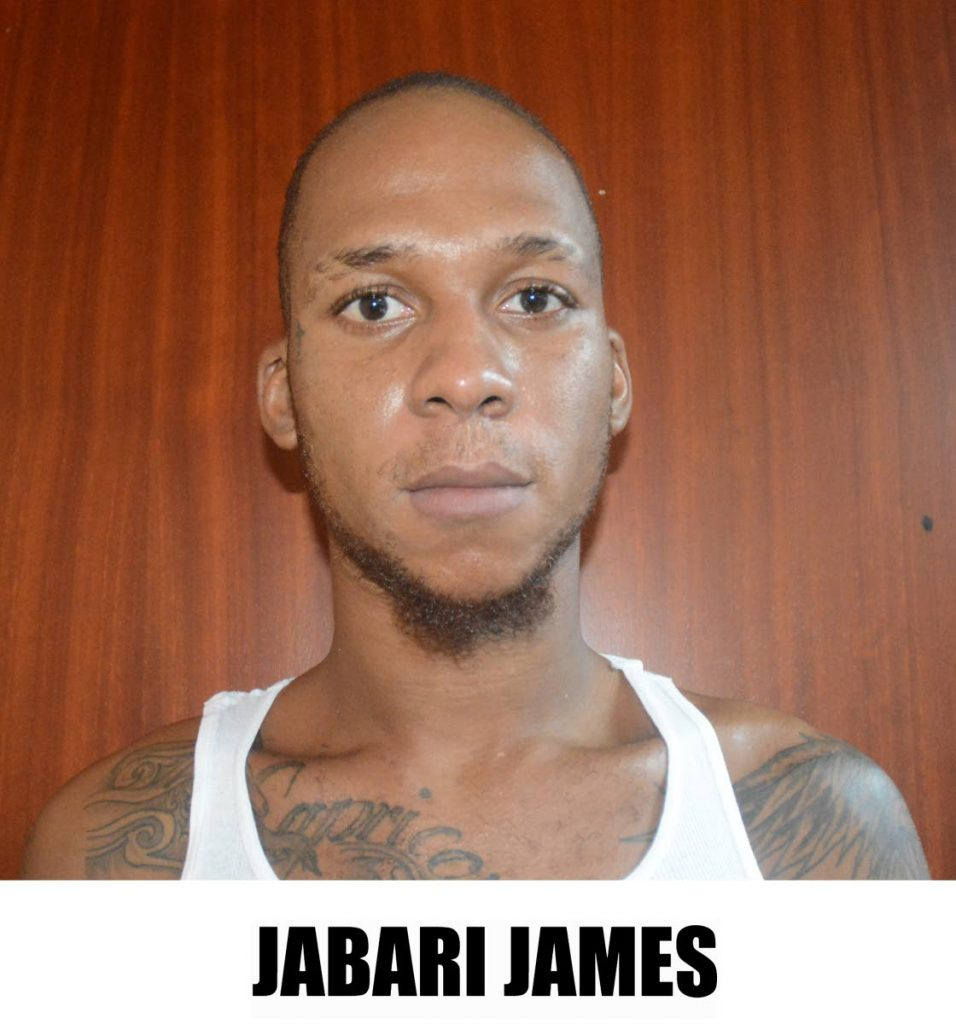 CHARGED: Jabari James who is also charged for the murder of Omari Matthews. PHOTOS COURTESY TTPS