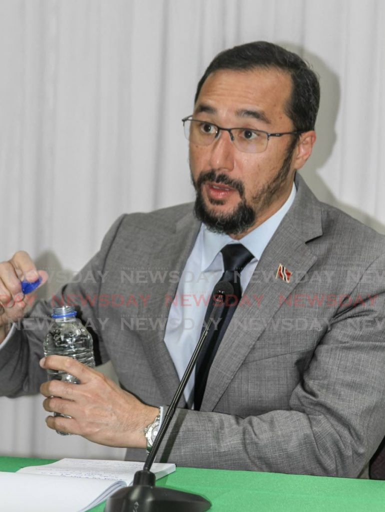 Minister of National Security Stuart Young - Darren Bahaw