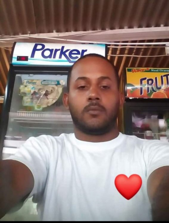 Larry Simon shot and killed by police along the SS Erin road Palo Seco on Thursday night.