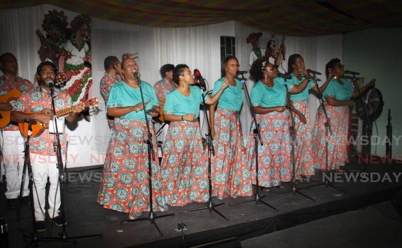 Los Parranderos De UWI celebrates