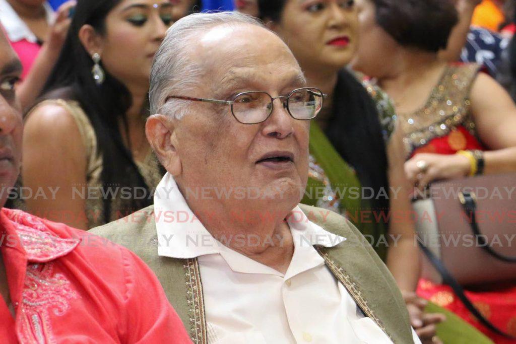 Deceased former secretary general of the Sanatan Dharma Maha Sabha Satnaryan Maharaj. FILE PHOTO -
