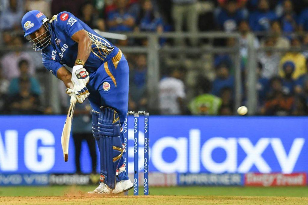 Mumbai Indians cricketer Kieron Pollard . AFP PHOTO -