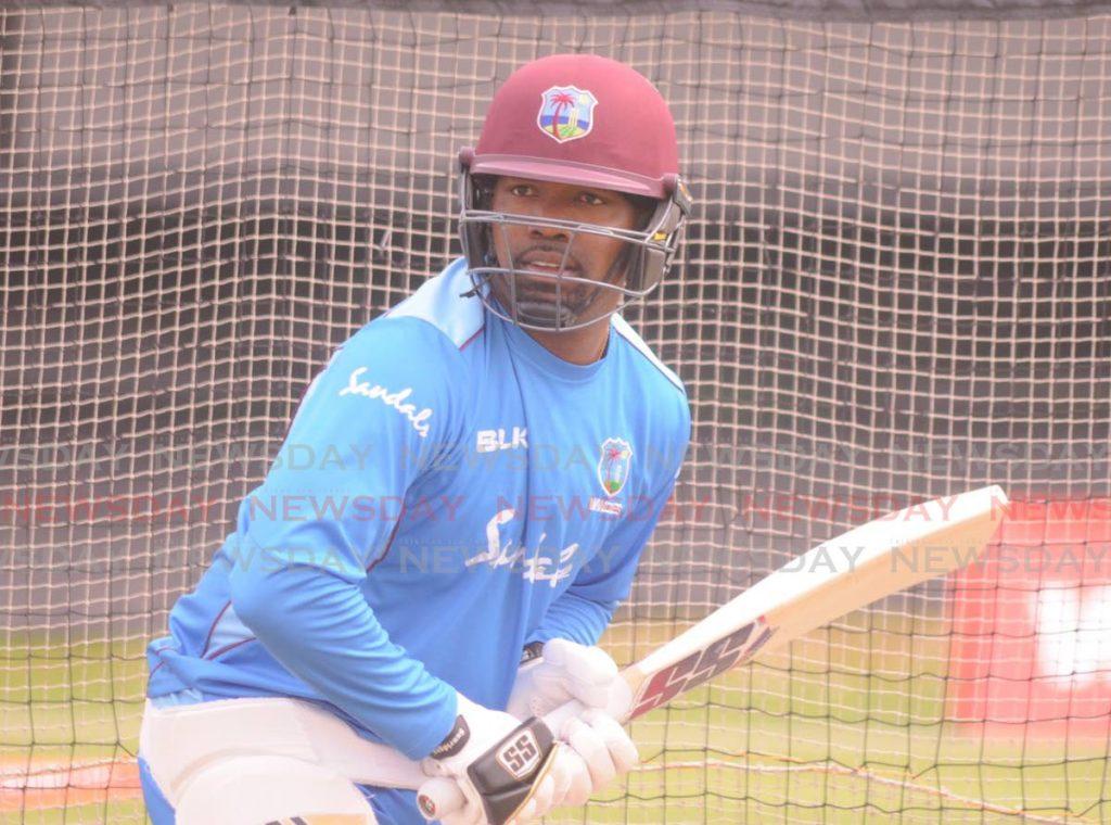 West Indies batsman Darren Bravo. -