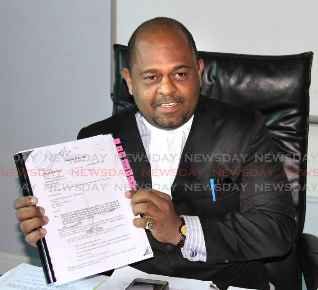 Attorney Wayne Sturge -