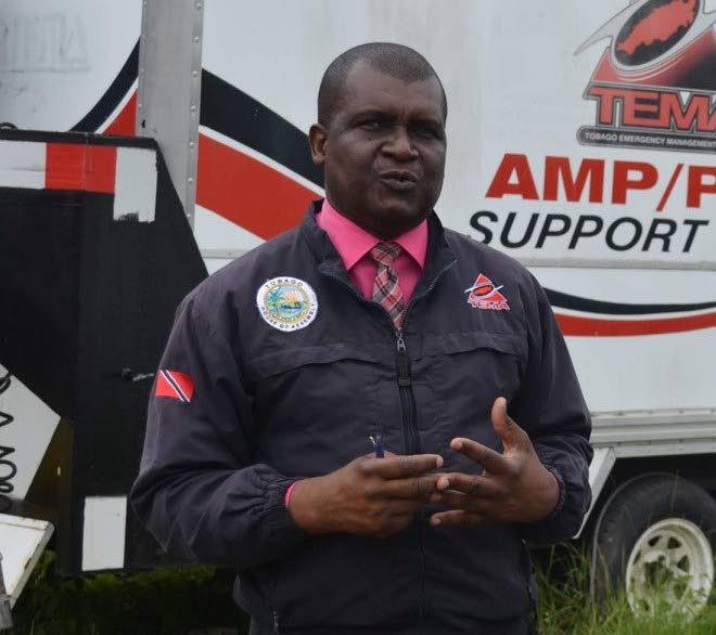 Tobago Emergency Management Agency director Allan Stewart  -