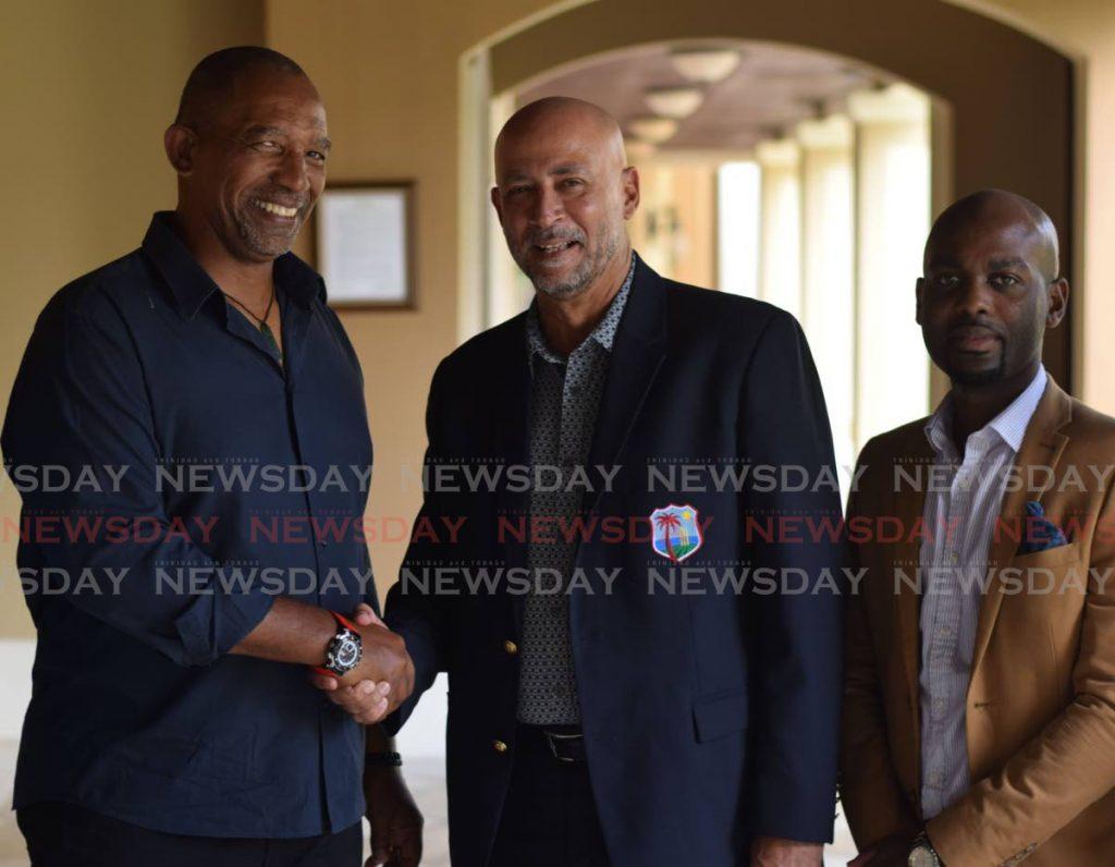 Cricket West Indies president Ricky Skerritt. -