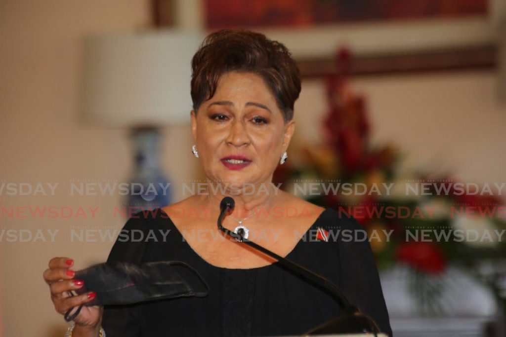 Kamla Persad-Bissessar. Photo by  Sureash Cholai