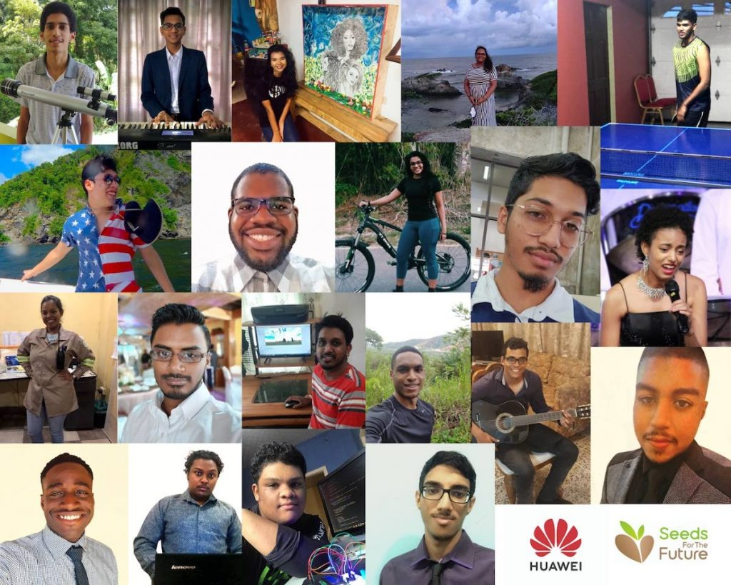 Huawei's ICT initiative Seeds for the Future participants. - Huawei
