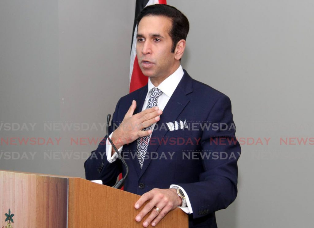Attorney General Faris Al-Rawi  AYANNA KINSALE