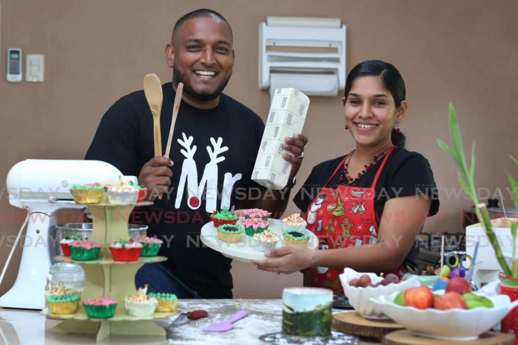Alyssa and Rajindra Dhanraj, The couple that bakes together. Alyssasays that family support is critical in this new chapterofher life. - Marvin Hamilton