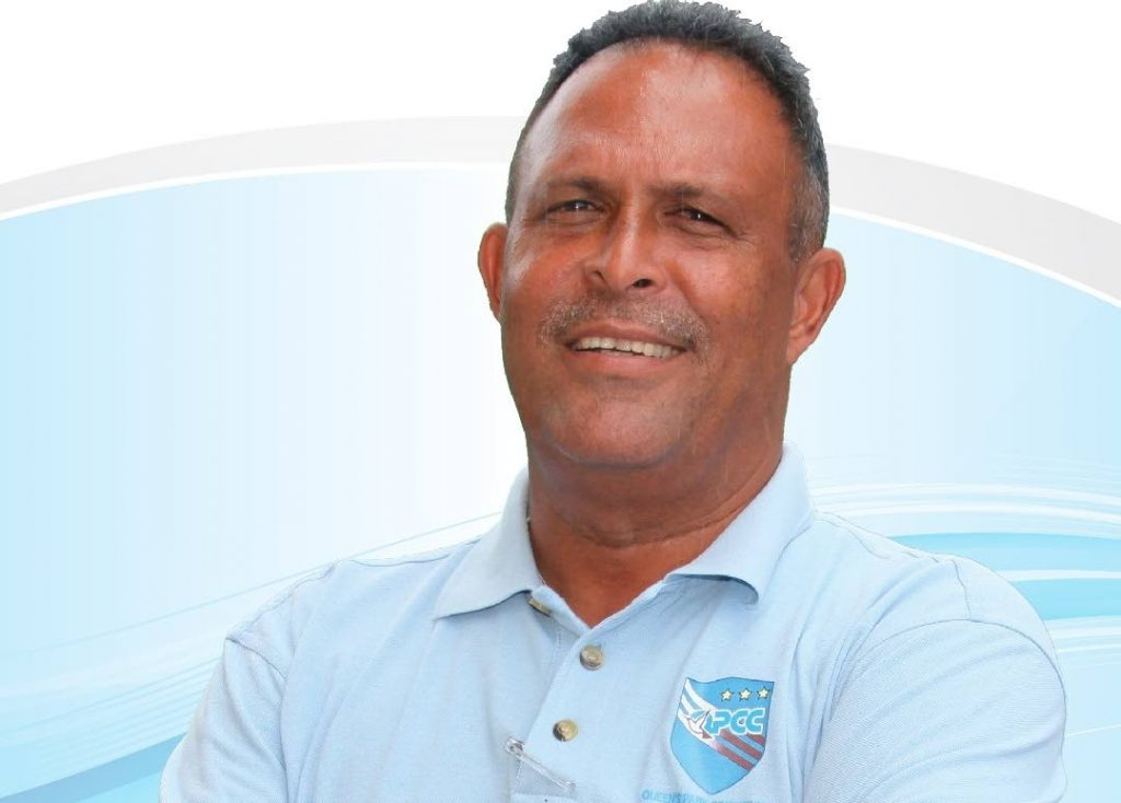 TT Red Force coach David Furlonge