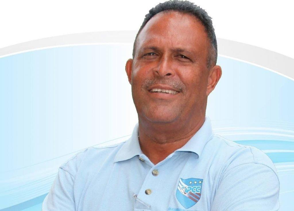 TT Red Force head coach David Furlonge  -
