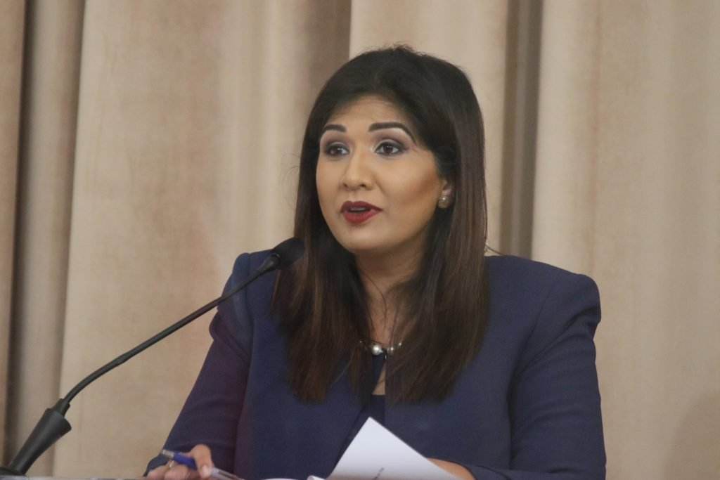 Jayanti Lutchmedial. Photo courtesy Office of the Parliament.