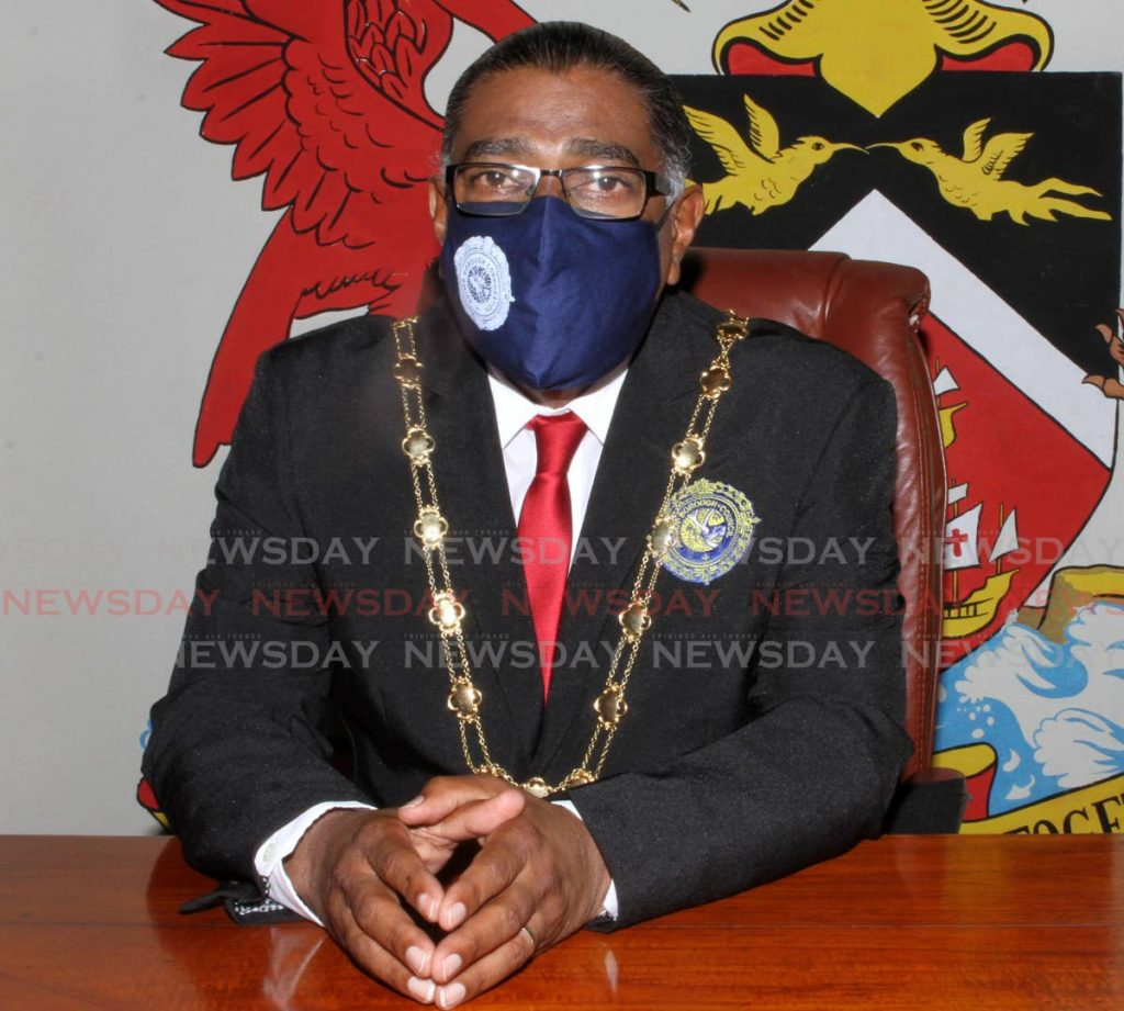 Arima Mayor Cagney Casimire.