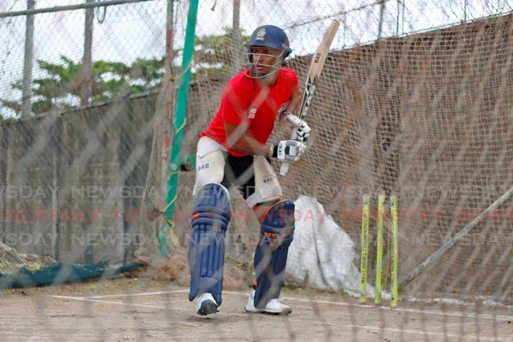 TT Red Force batsman Mark Deyal. - Marvin Hamilton