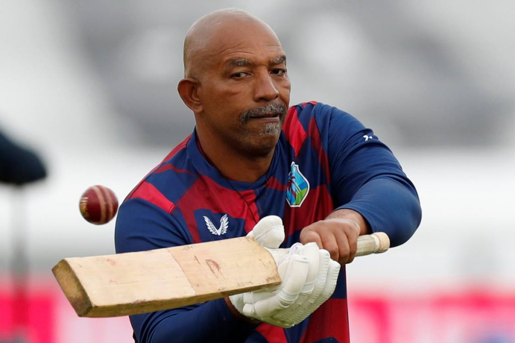 West Indies coach Phil Simmons.  (AFP PHOTO) -
