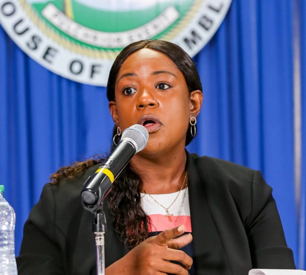 Acting county medical officer of health Dr Tiffany Hoyte  - THA