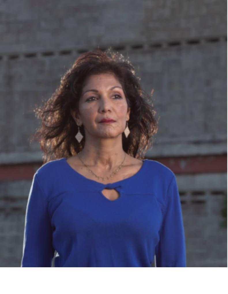 Gun violence survivor and author Caron Asgarali. -