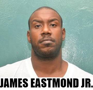 James Eastmond Jr, 31, was charged along with his father James Eastmond, for the murder of Morvant taxi driver Darryl Villafana on New Year's Day.  Both father and son are expected to appear before a Port of Spain magistrate on Monday to face the charge.   PHOTO COURTESY TTPS - TTPS