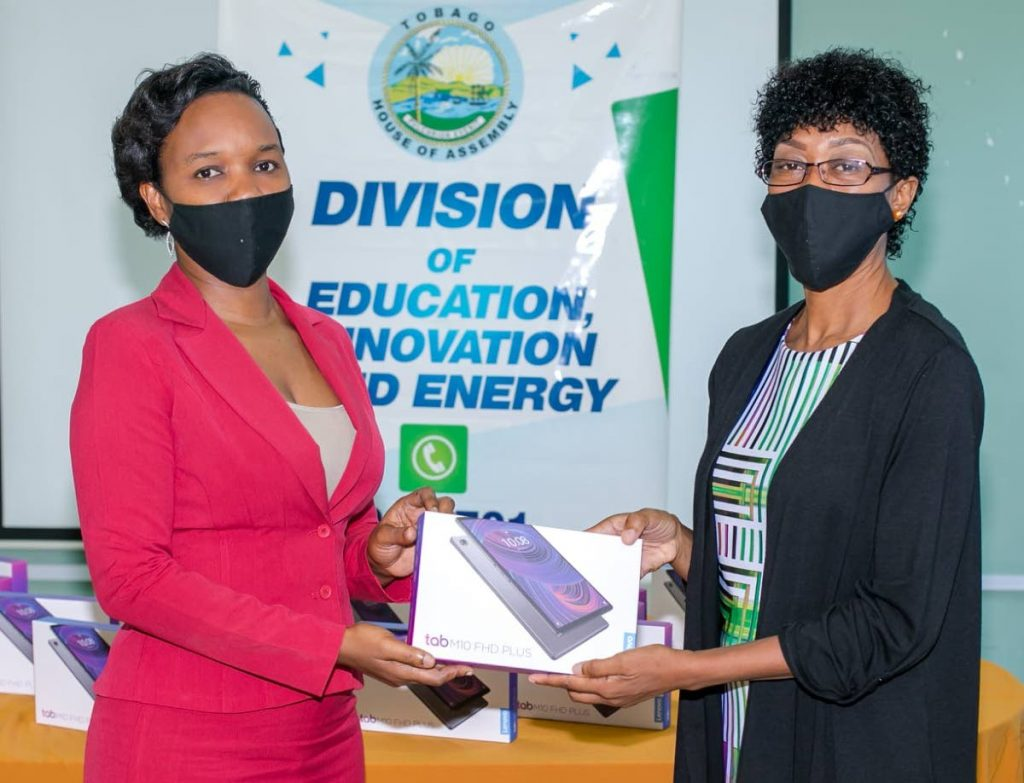 The Division of Education, Innovation and Energy distributed digital devices to primary school principals last week.  - THA