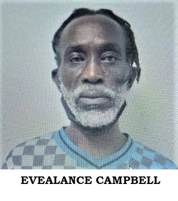 Evealance Campbell, 52, of Sangre Grande was granted bail with surety in the sum of $20,000 when he was found on the compound of the Knowsley Building, Port of Spain on Sunday morning.  A police media release on Wednesday reported that Campbell was detained by security guards when he jumped over the wall of the building.    PHOTO COURTESY TTPS