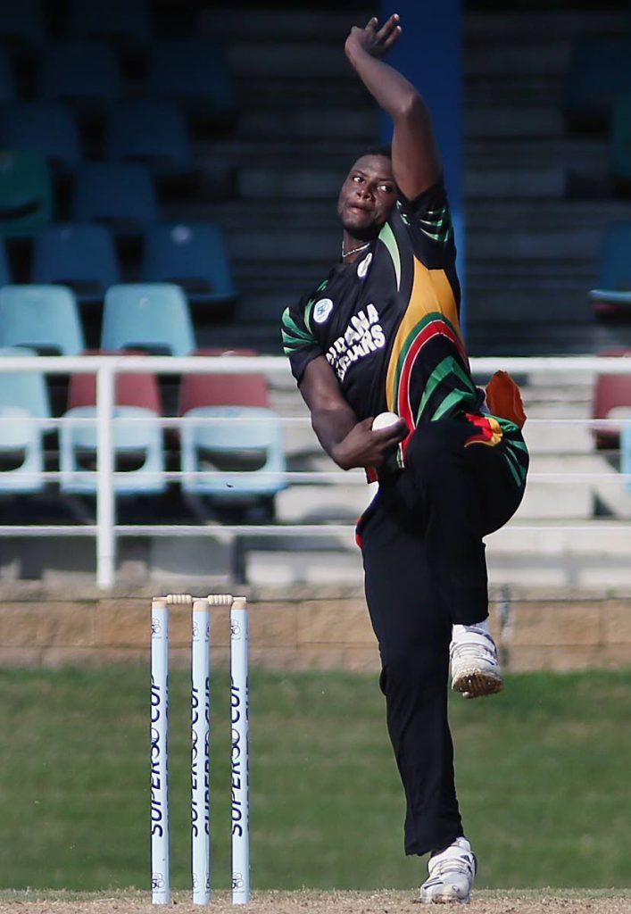 West Indies all-rounder Romario Shepherd. -