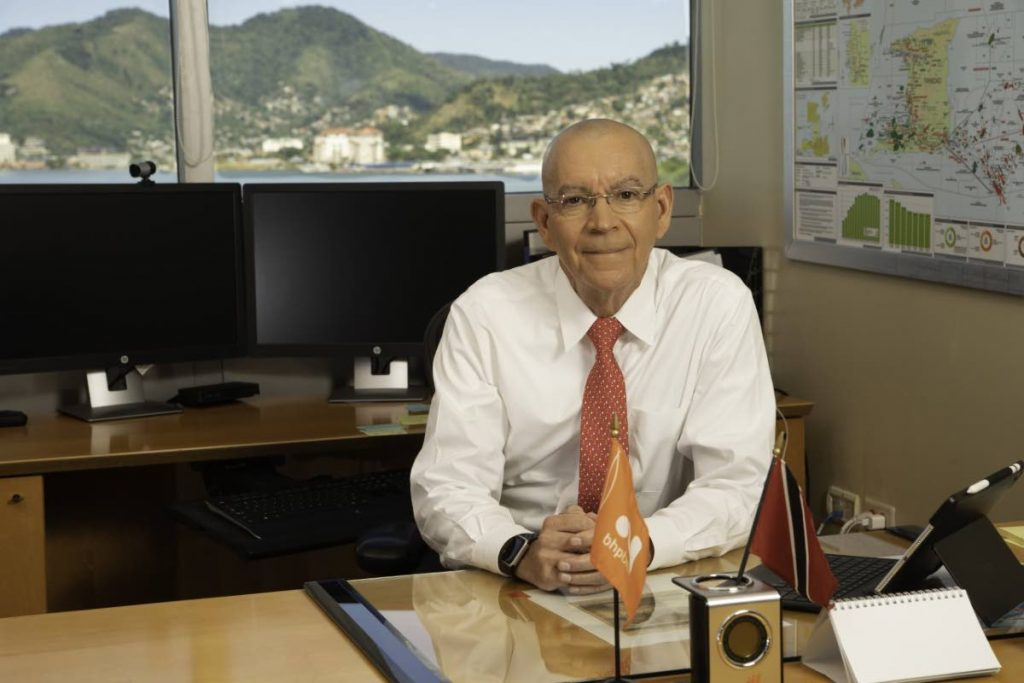 BHP country manager Vincent Pereira -