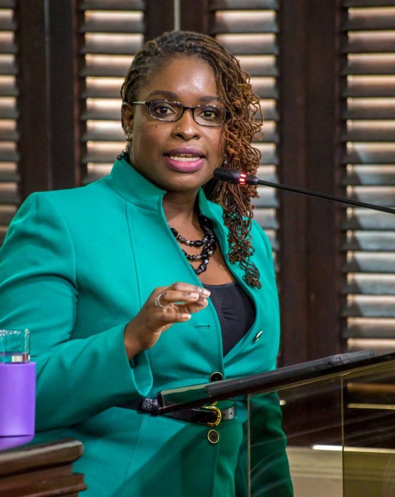 PDP deputy leader Dr Faith BYisrael. PHOTO COURTESY THA -