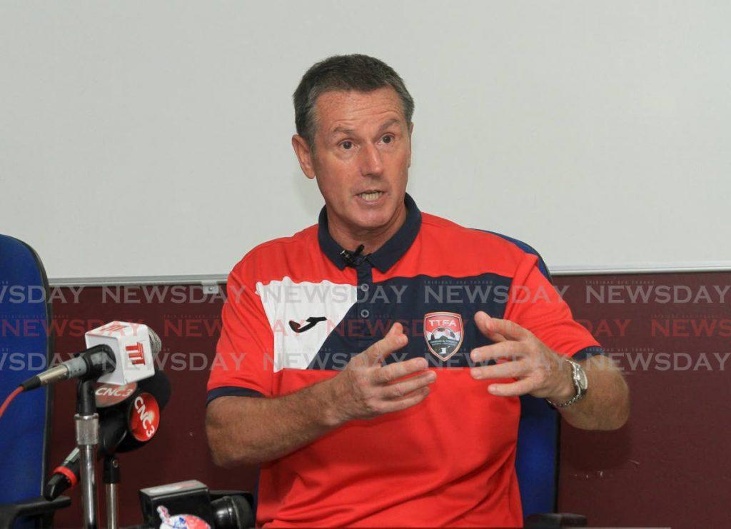 Trinidad and Tobago senior men's football coach Terry Fenwick. - Ayanna Kinsale