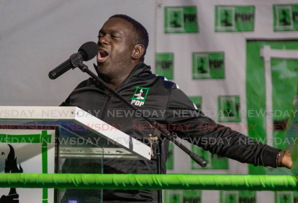 PDP political leader Watson Duke