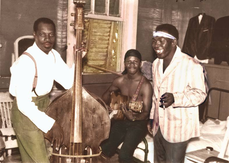 Lord Kitchener, left, Lord Superior and Melody -