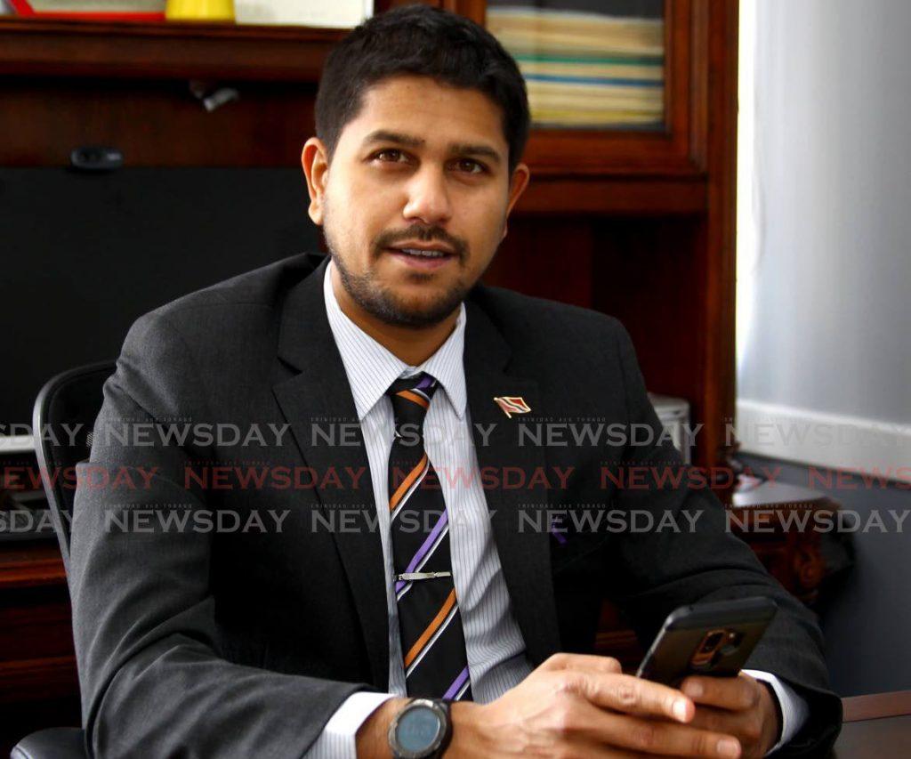 Rajiv Diptee, president of the Supermarket Association of Trinidad and Tobago.