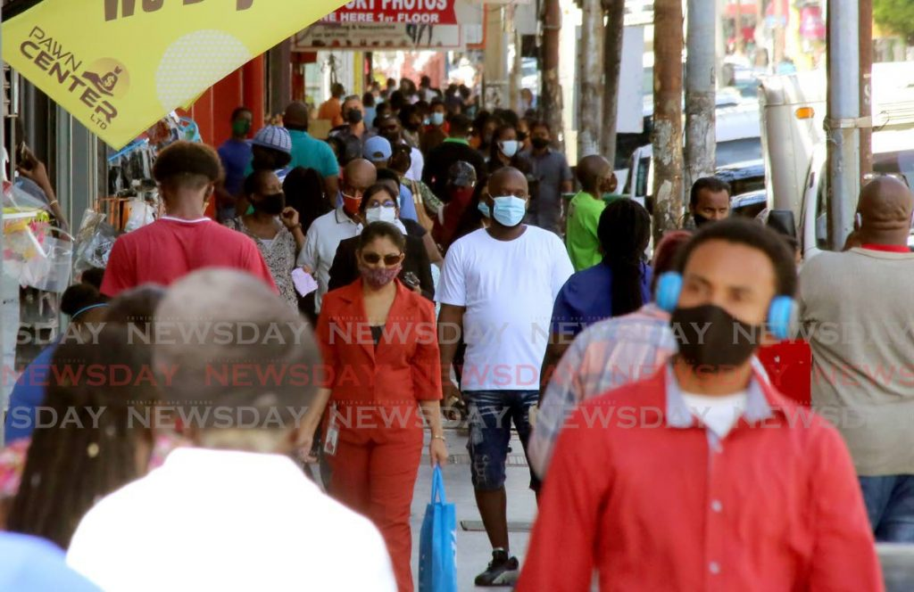 In this October 2020 file photo, the streets of Port of Spain got a little busier as public servants were allowed to return to work after some covid19 restrictions were relaxed. However, the question of who pays workers for 'quarantine leave' is still unanswered. -