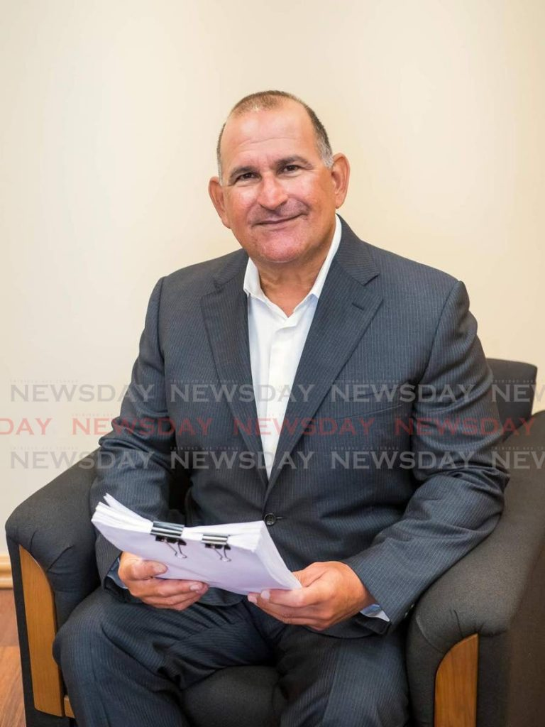TTFA normalisation committee chairman Robert Hadad. -