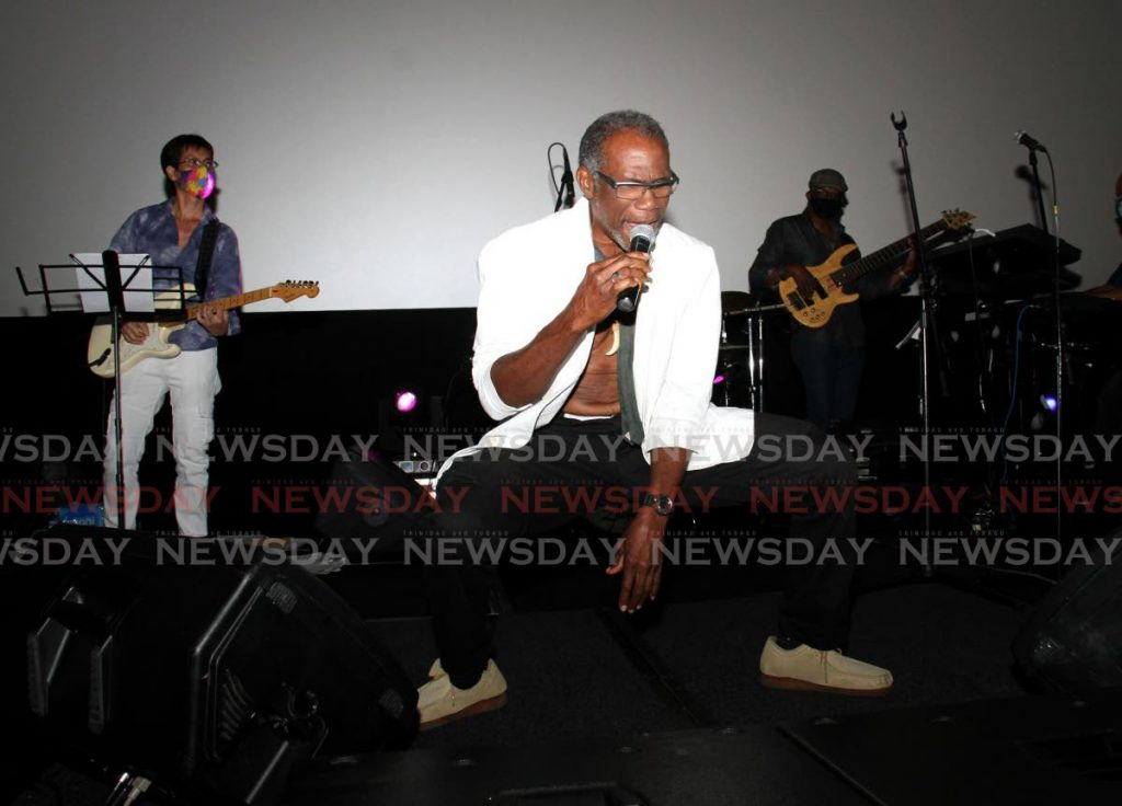 Trinidad Rio performing his Back to Basics during the Classic Vintage in Dey Tale on February 10 at Movie Towne, Invaders Bay, Port of Spain.  - AYANNA KINSALE