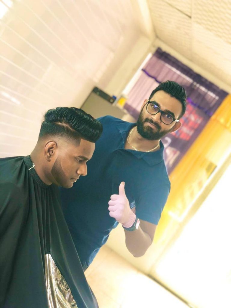 Travel agent Khayyam Ali got certified and opened his own barber shop, thus fulfilling his dream faster than he expected due to the impact of the pandemic on the travel industry.  -