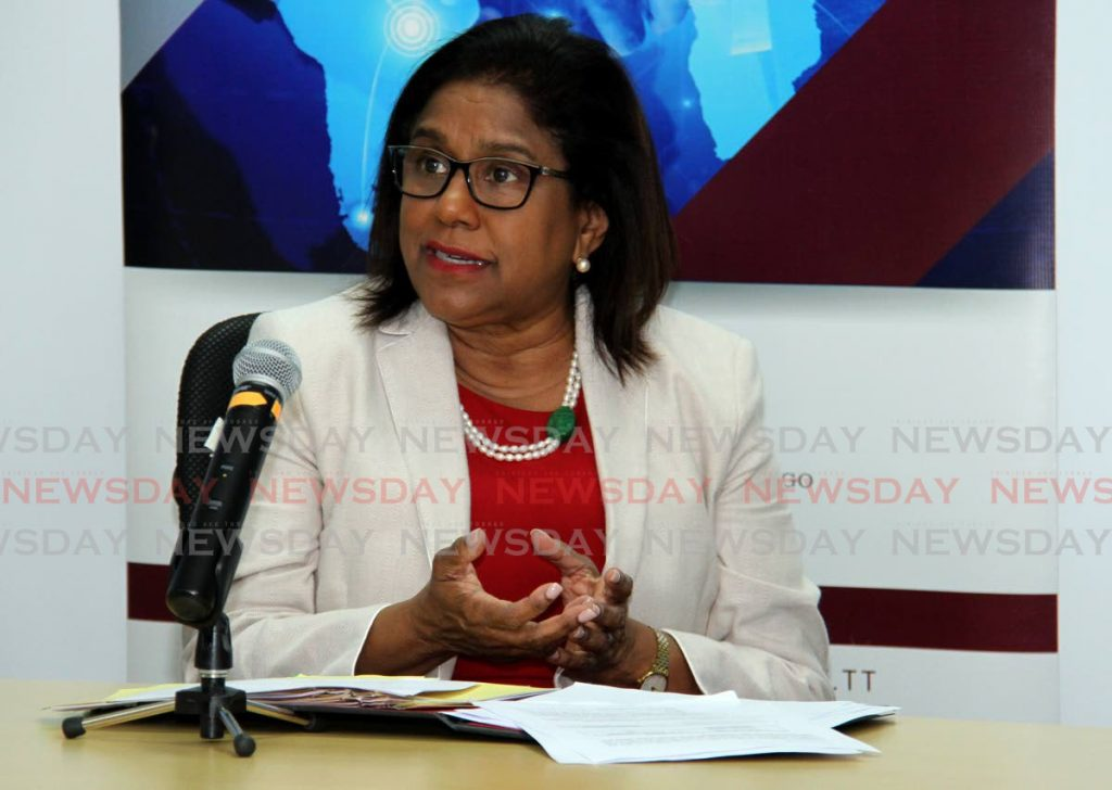 Minister of Trade and Industry Paula Gopee-Scoon PHOTO BY AYANNA KINSALE