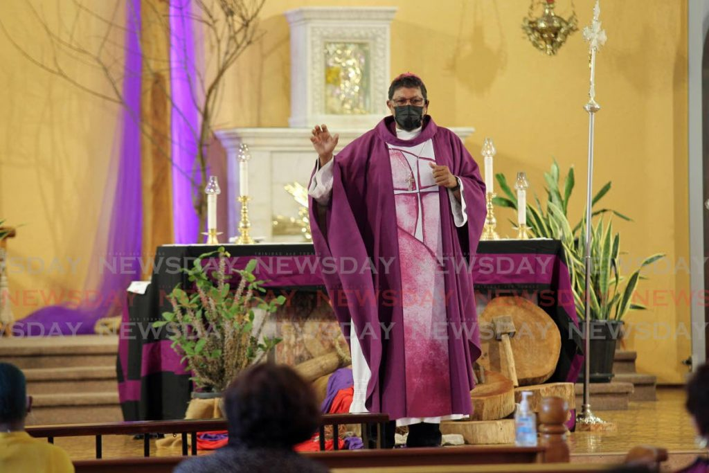 Archbishop Jason Gordon - Lincoln Holder