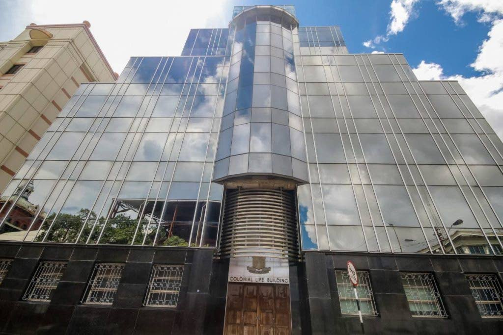 CLICO's headquarters on St Vincent Street, Port of Spain. -