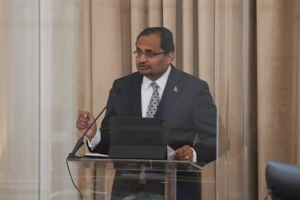 Chaguanas West MP Dinesh Rambally - Courtesy TT Parliament