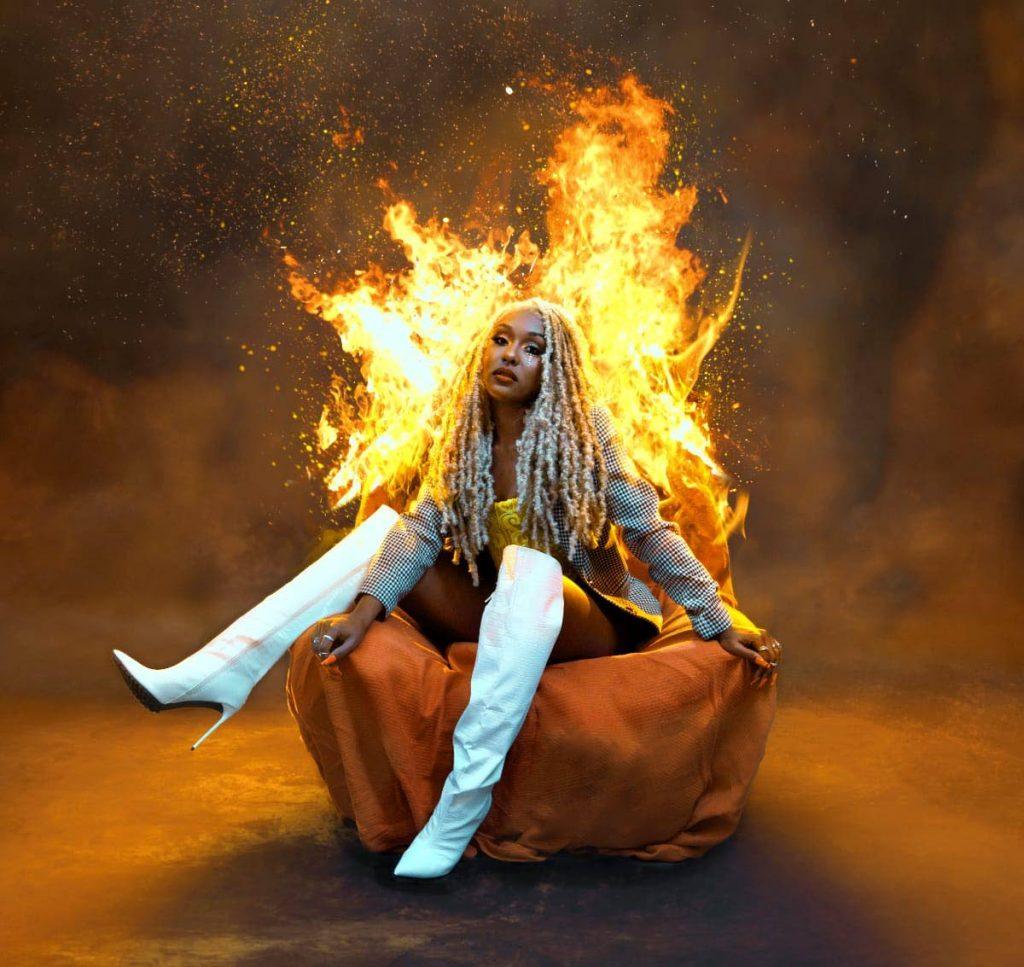 Singer Nailah Blackman will host a free virtual concert on February 28 called Fiah. - Photos courtesy Nailah Blackman