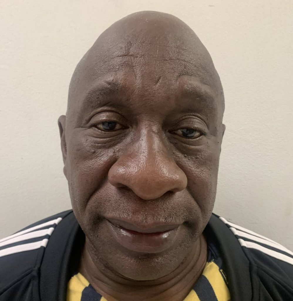 Terrance Hypolite, 63, was arrested and charged with one count of uttering a false document and one count of attempting to obtain $4.8 million by false pretences from the government.   PHOTO COURTESY TTPS - PHOTO COURTESY TTPS