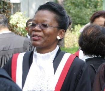 Justice Joan Charles. -