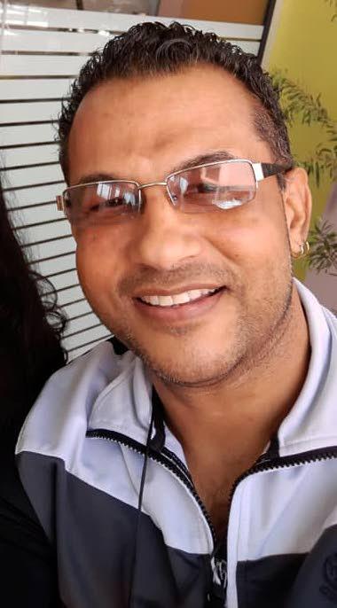 Rennie Ramnarine of the band Dil-E-Nadan. -