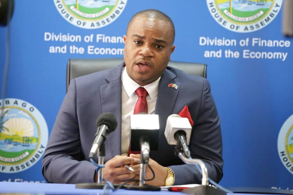 Secretary of Infrastructure, Quarries and Environment Kwesi Des Vignes -