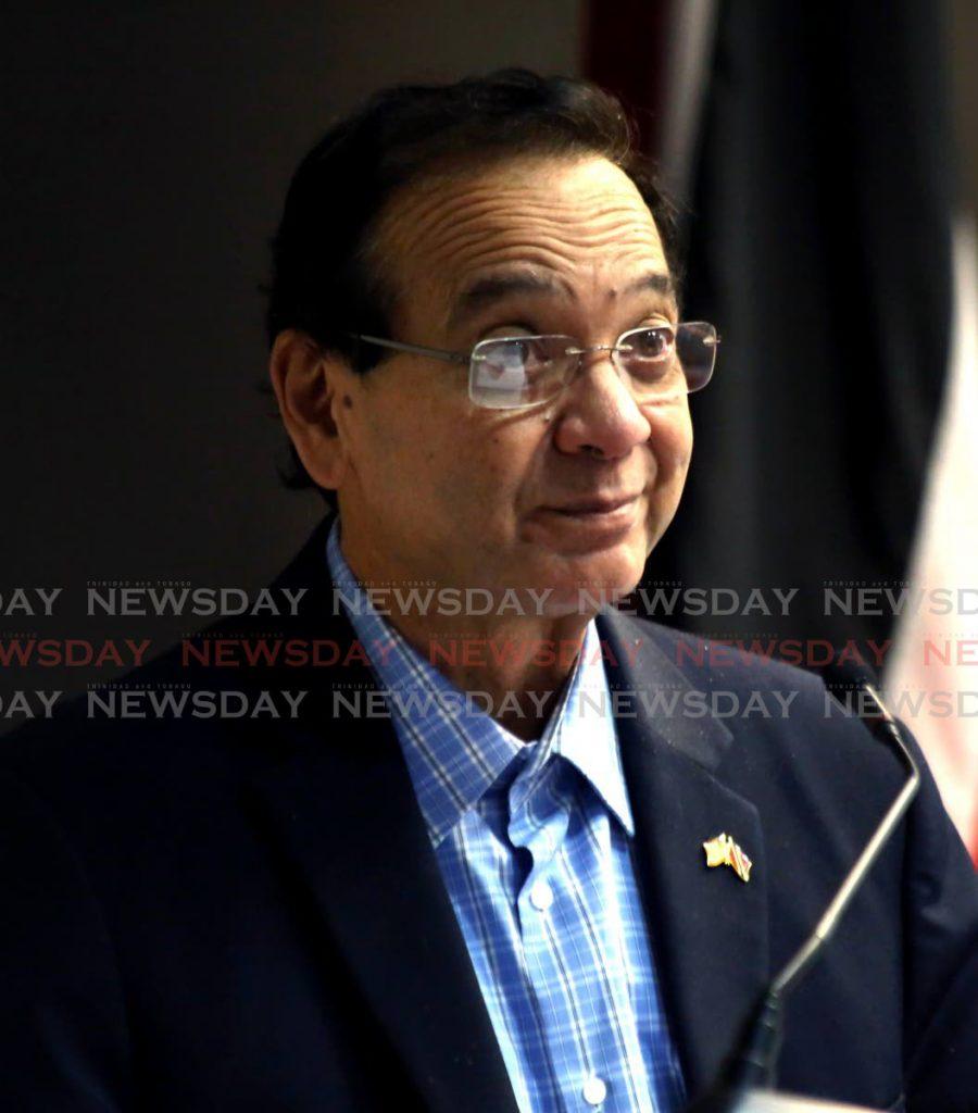 Energy Minister Franklin Khan -