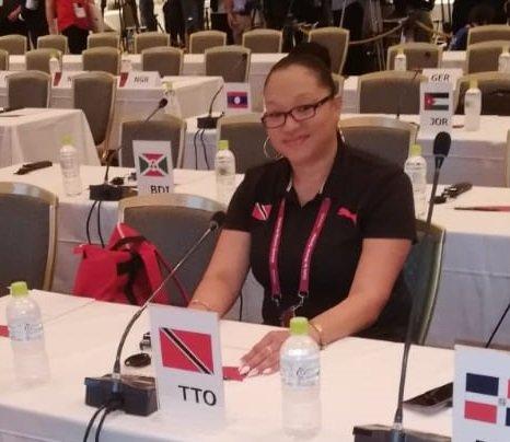 Lovie Santana   Photo source: ttolympic.org
