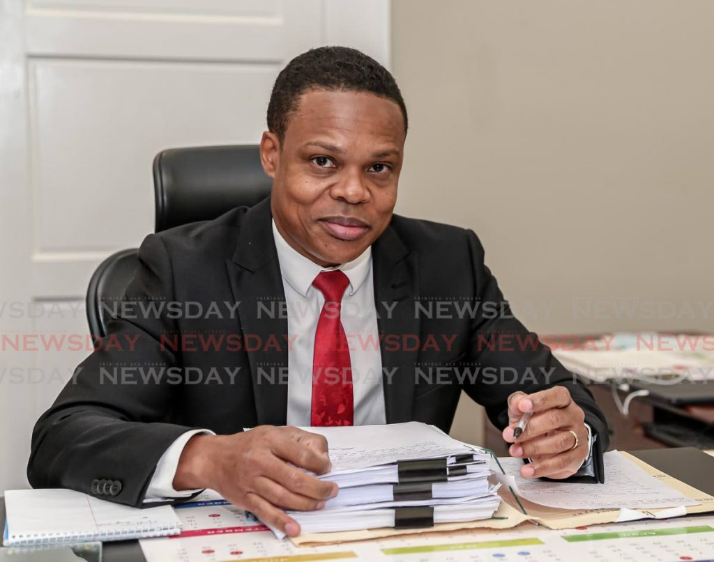 Minister of Foreign Affairs Amery Browne. Photo by Jeff Mayers